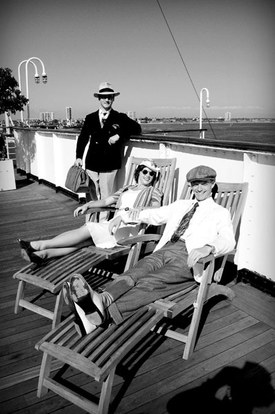 Cruise fashion 80 years ago...