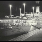 RMS Orsova ... the Orient Line ... enroute to Australia...