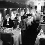 Dining first class on the Southern Pacific... late 1930s...