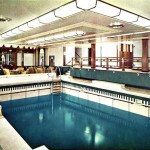Swimming pool on the Empress of Japan (Empress of Scotland)