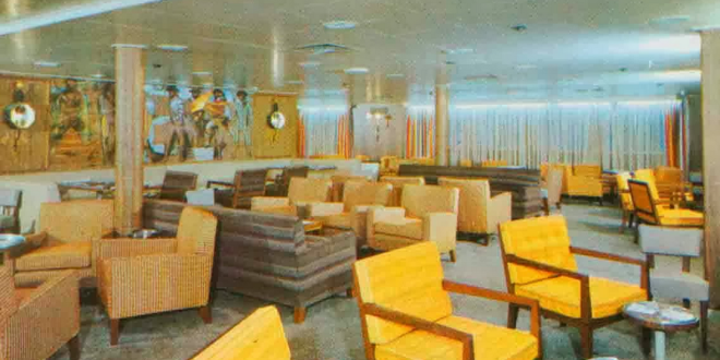 SS ATLANTIC… 1958… $40 a day first class and $25 a day tourist class…