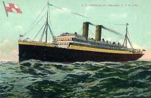 EMPRESS OF IRELAND...