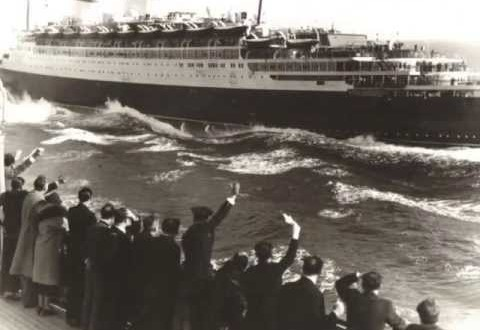 THE SS REX… ITALIAN LINE'S FAMOUS LINER…