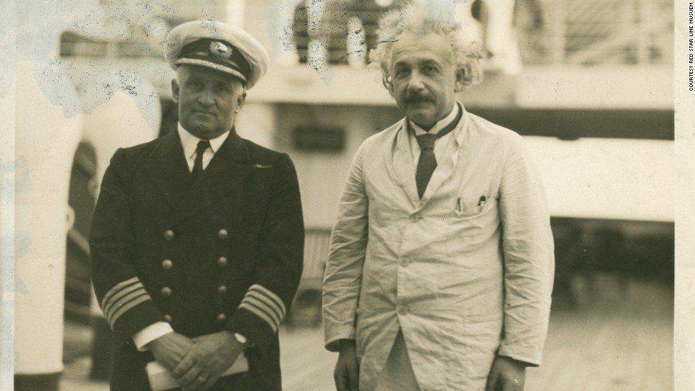 Albert Einstein and the Captain...