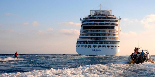 Cruise Ships firsts…