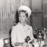 Debbie Reynolds on the Cunard Lines...