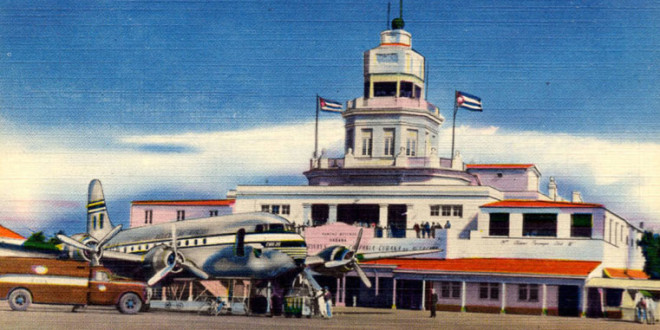 Flying to Cuba… from the 1950s to 2015…