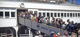 SS CATALINA and SS AVALON sailed 26 miles across the sea from Los Angeles to Catalina Island…