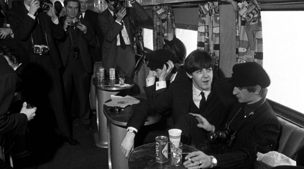 Beatles first trip to America aboard the Congressional Limited in 1964…