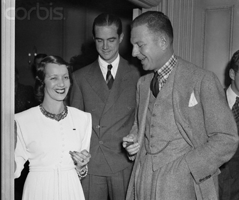 Beebe with Lily Pons and Howard Hughes...