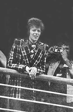 David Bowie arrives in Japan after crossing the Pacific aboard the SS Oronsay.