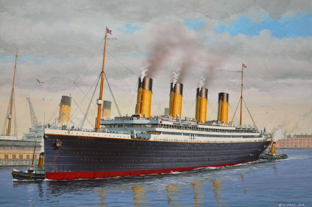 RMS Olympic carried thousands of immigrants in  third or steerage class. (She was sister-ship to the Titanic)