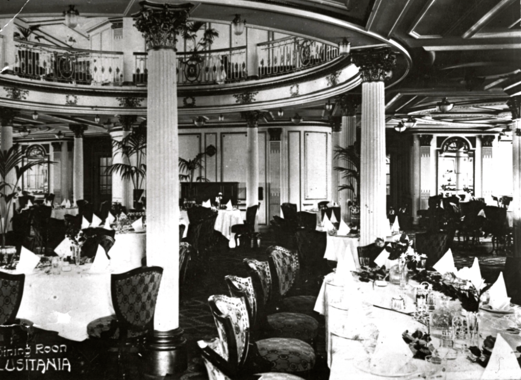 First Class Dining Room