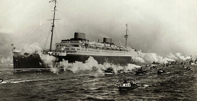 1930s – The SS Europa crossing the pond…