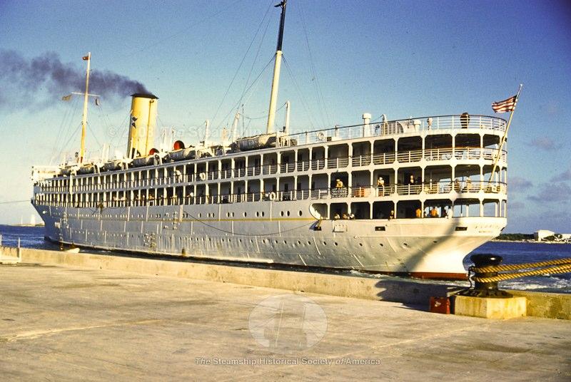 SS Florida - Havana, Cuba - 1950s...