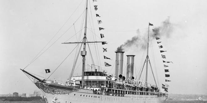 The world's first cruise ship… the Prinzessin Victoria Luise…