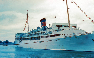 SS Evangeline... Bermuda Cruise... 1950...