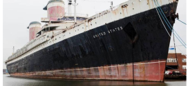 Crystal Cruises throws in the towel on saving the SS United States but activists continue the fight..