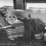 Going first class on board the Southern Pacific's Coast Daylight in the Observation Parlor Car.