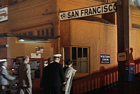 Gateway to San Francisco in the 1950s. Streamliners, the SP ferries and the Oakland Pier.