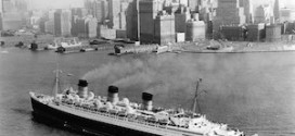 RMS Queen Mary – The Maiden Voyage in 1936 – President John Kennedy