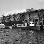 Aug. 1, 1939: Gambling ship TANGO off Long Beach during raids by the Los Angeles County Sheriff's deputies and District Attorney's investigators.