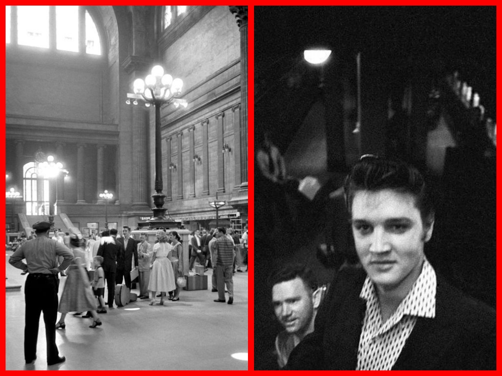 Elvis Presley, Alfred Wertheimer, RCA Victor Records, Heartbreak Hotel,Train, New York, Memphis. , Penn Station , 1956, Cruise History, Pullman Company