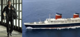 COLIN FARRELL ABOARD AMERICA'S LAST GREAT OCEAN-LINER