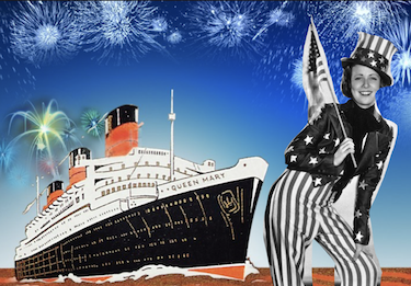 Celebrating the 4th of July at Sea!