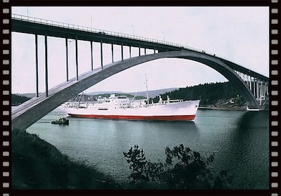 Johnson Line's luxury ships from Sweden to the USA West Coast in the 1960s.