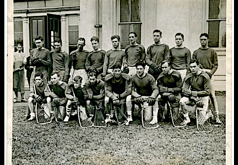 1928 Olympics Lacrosse Team sails to Amsterdam on the S.S. President Roosevelt