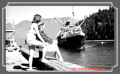 Union Steamship the link to British Columbia and Gold Rush Country until the 1960s…