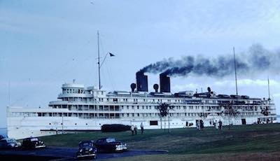 SS CITY OF CLEVELAND on a Labor Day Cruise in 1947