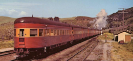 The Streamliner COAST DAYLIGHT was considered the most beautiful train in the world