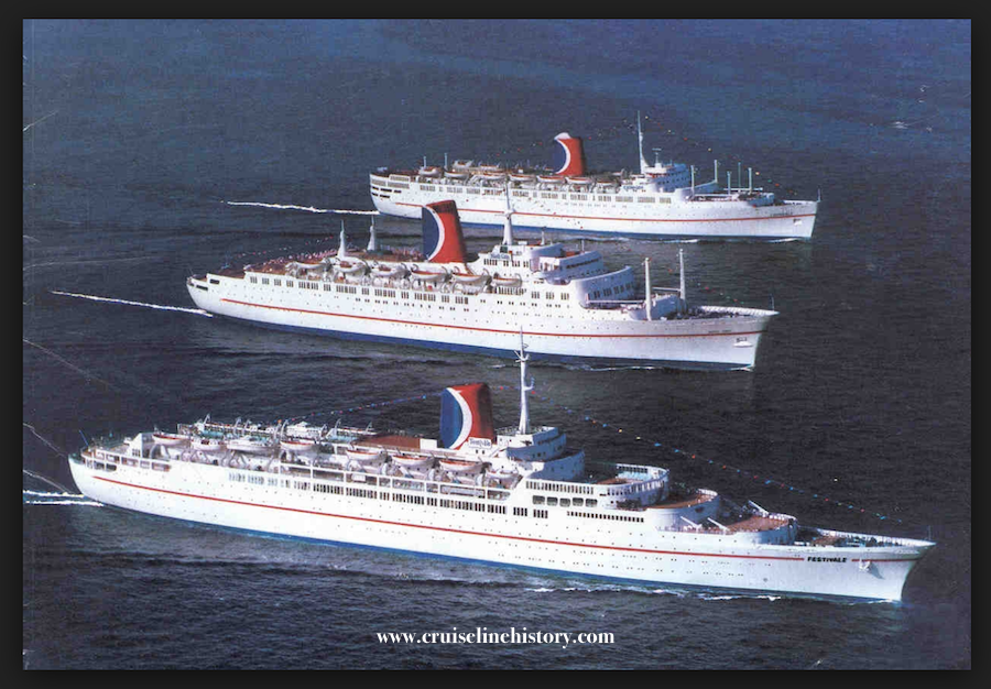 Carnival Cruise Line S Mardi Gras The First Fun Ship And Former Cp Liner Rms Empress Of Canada The Past And Now News Travel Social History