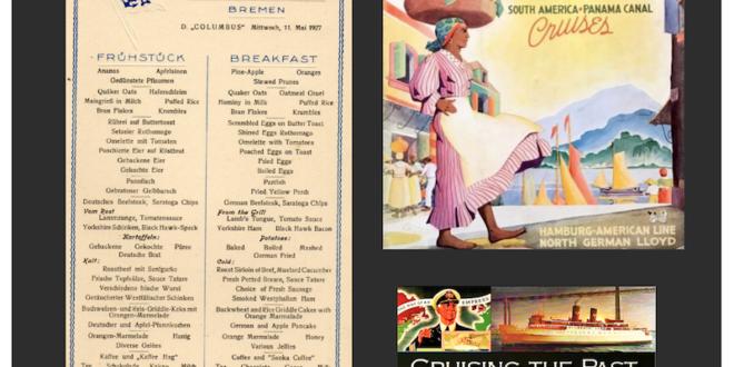 menu and brochre