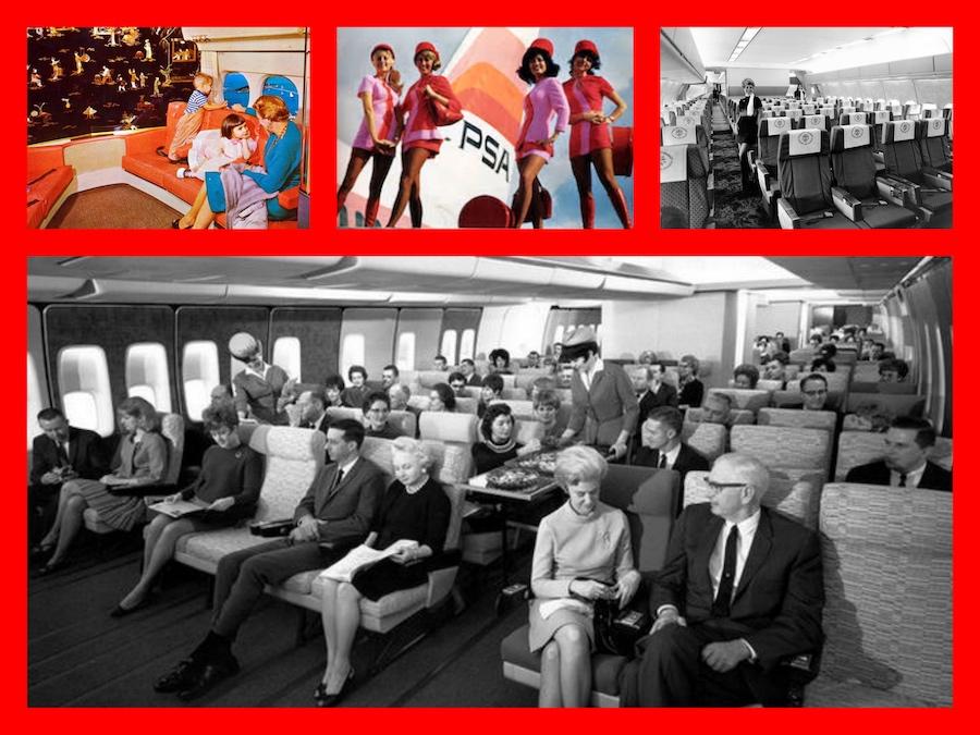 PSA, COACH, air travel, 1970s