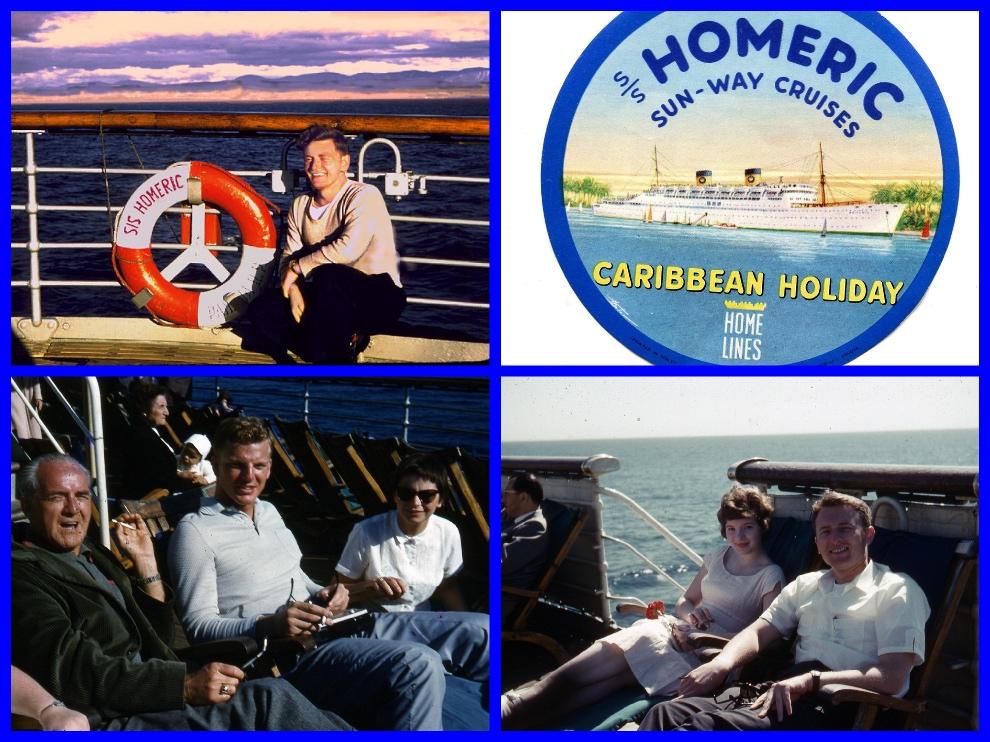 ss homeric, cuba, cruise, 1959
