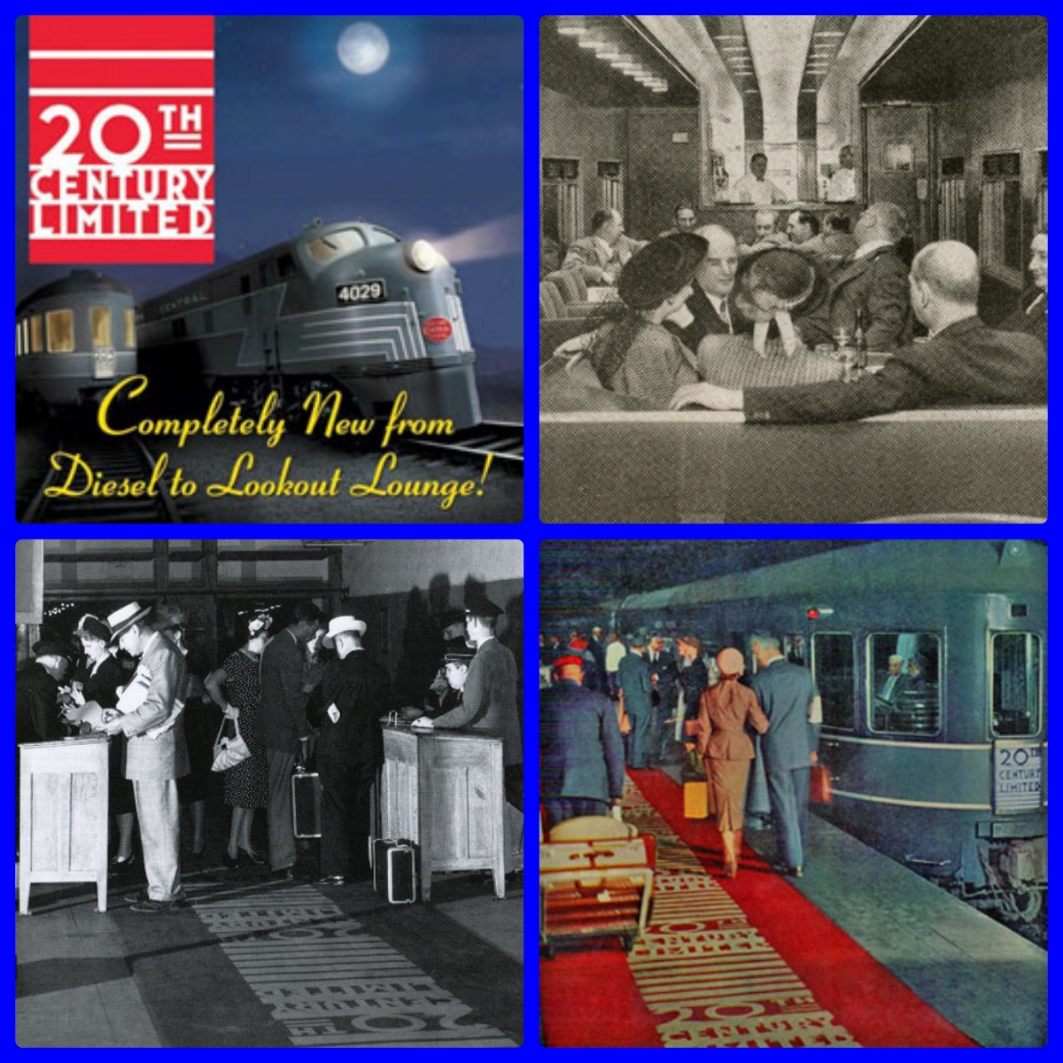 New York Central, Cary Grant, Eva Marie Saint, Alfred Hitchcock, 20th Century Limited, Pullman, First Class, Travel History, Michael L. Grace, Red Carpet Treatment, Henry Dreyfuss, Trains, Streamliners