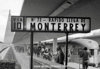 Mexico City's Buena Vista train terminal in the 1970s.