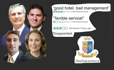 Hotel Granduca – A 5 star hotel slips because of bad management!