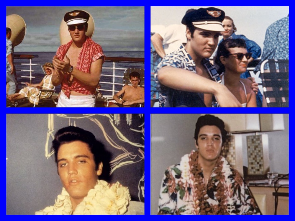 Elvis Presley, Hawaii, Matson Lines, SS Lurline, SS Matsonia, Hawaiian Village Hotel, Honolulu, Waikiki, Los Angeles, Colonel Parker, Jailhouse Rock, Celebrities, Michael L. Grace, It's The Love Boat, Cruising the past, cruise history, cruise, liners, steamships, titanic, normandie, ocean liner, white star line, ss america, steamship, waikiki, travel history
