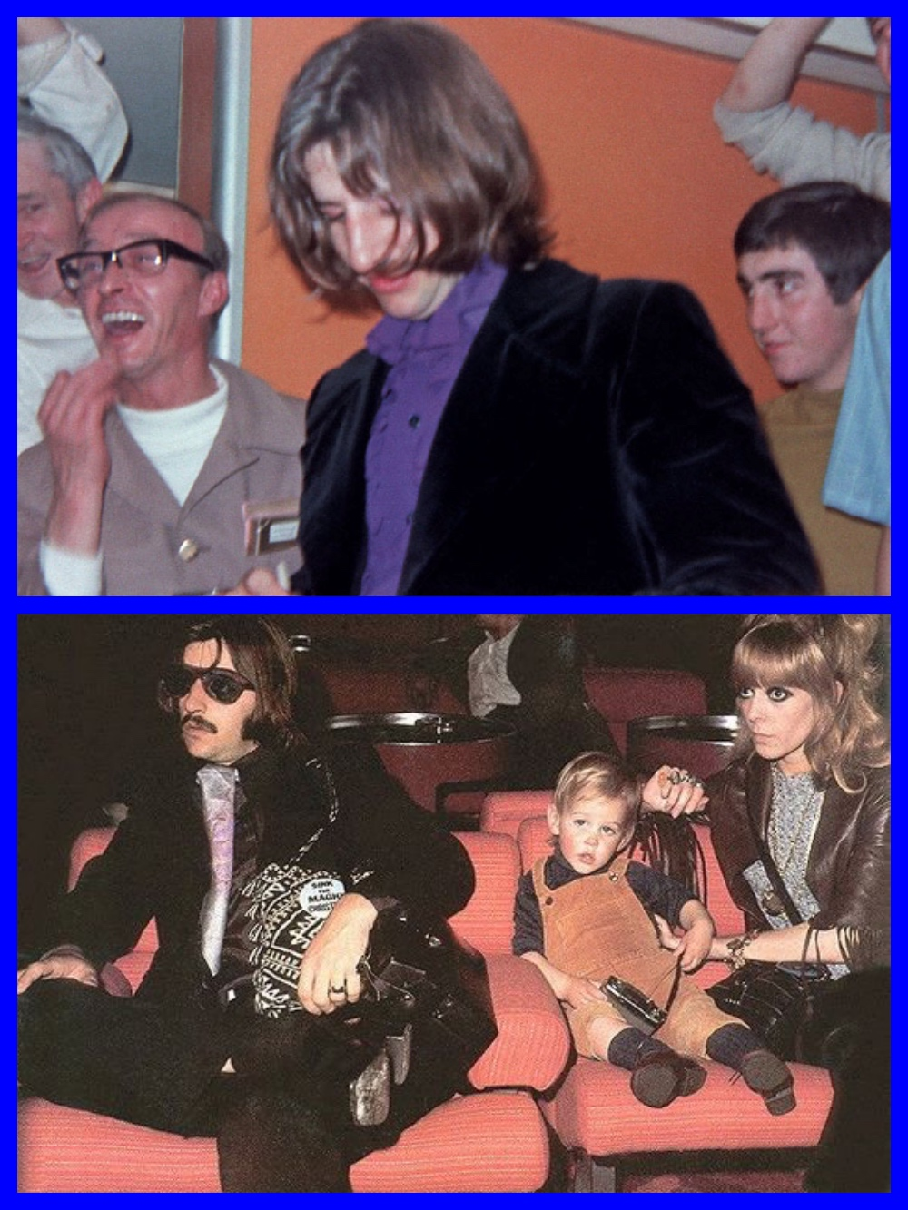 Ringo Starr, Peter Sellers, QE2, Cunard Line, The Magic Christian, 1969 Celebrities, Michael L. Grace, It's The Love Boat, Cruising the past, cruise history, cruise, liners, steamships, titanic, normandie, ocean liner, white star line, ss america, steamship, travel history, historian