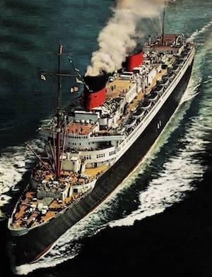 SS EUROPA, SS BREMEN, NAZI, NORTH GERMAN LLOYD, TRANS-ATLANTIC