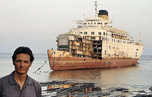 PETER KNEGO, the maritime historian who turned his home into a MID-CENTURY ocean-liner.
