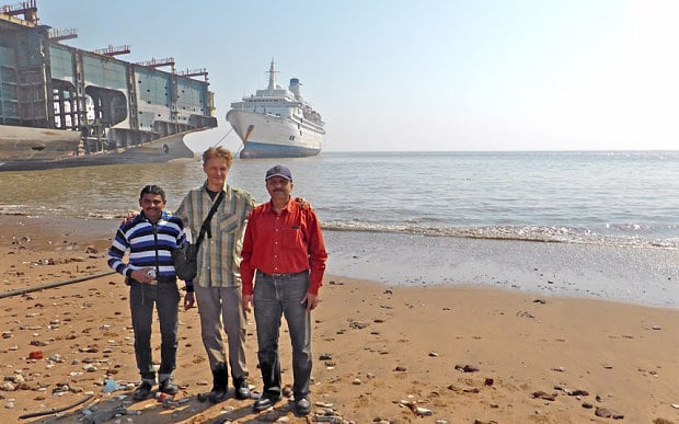 peter knego, aureol, elder dempster, marine historian, cruise line history, cruise history, cruising the past, michael l grace, alang, india, mid ship century, mid century