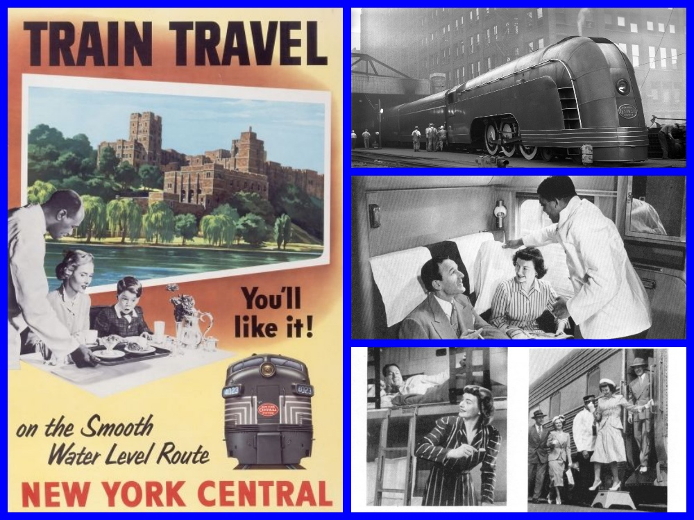 New York Central, Pullman, streamliner, sleeping cars, detrioter, detroit, michigan, trains, dining cars