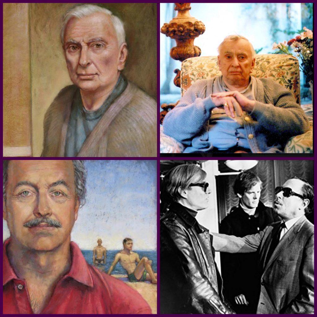 Juan Bastos, Princess Michael of Kent, Tennessee Williams, Gore Vidal, Portraits, Los Angeles
