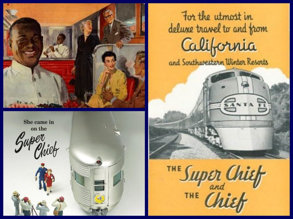 Santa Fe was great at promotion, as proved by the Janet Leigh fashion layout and Virginia Leigh starring in a film all about the SUPER CHIEF. Virginia Leith, under contract to 20th Century Fox, also did a promotion film for the Super Chief.